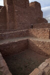 A View of the Kiva Inside of The Spanish Church