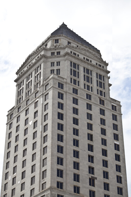 A View of the Miami-Dade County Courthouse