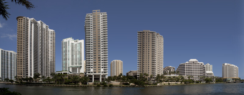 A View of the Miami Skyline