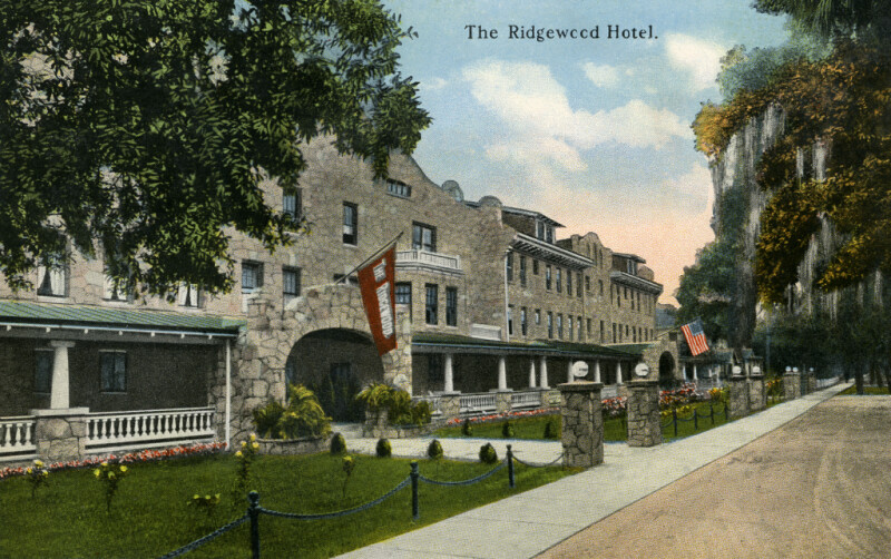 A View of the Ridgewood Hotel