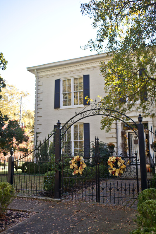 A View of the Sekeles Home