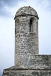 A View of the Sentry Tower, from below