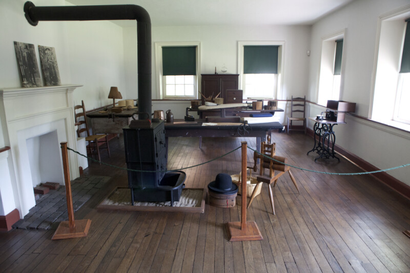 A View of the Tailor's Workshop