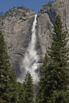 A View of Upper Yosemite Falls