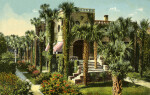 A View of Villa Flora, the Residence of Mrs. B. Wood, in St. Augustine, Florida