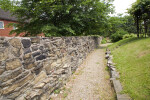 A Wall of Unfinished Stones