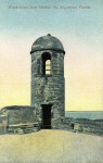 A Watchtower at Fort Marion in St. Augustine, Florida