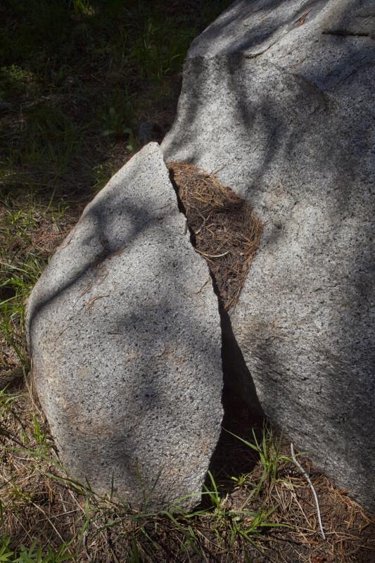 A Weathered Boulder
