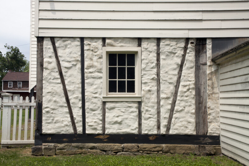 Ground Floor Window : A window on the ground floor of granary clippix etc