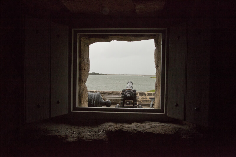 A Window with Cannons on the Other Side