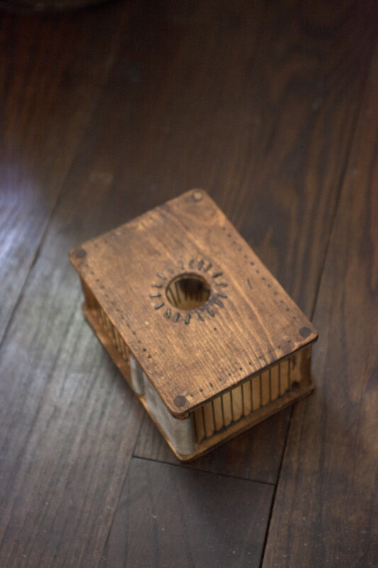 A Wooden Mousetrap