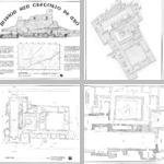 Abó Survey Drawings photographs