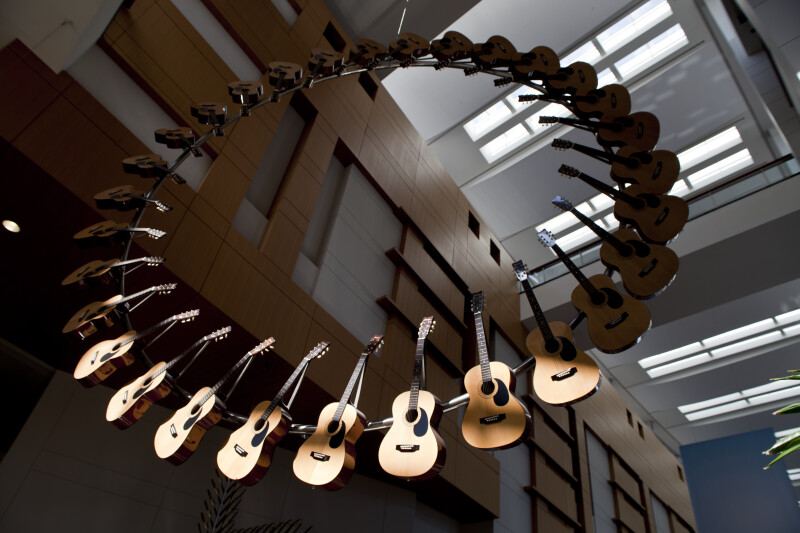 Acoustic Guitars on a Ring