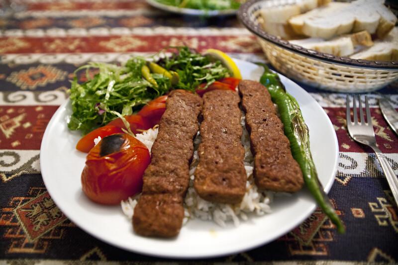 Adana Kebap Dish