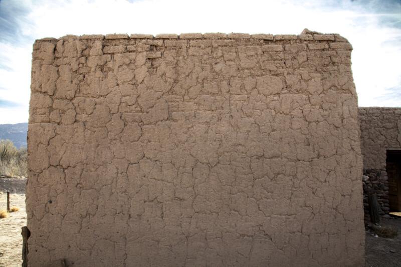 Adobe Wall of the Alvino House