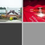 Advertising photographs