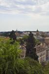 Aerial View of the Villa Borghese Gardens