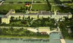 Aeroplane View of Royal Poinciana Hotel in Palm Beach, Florida