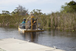 Airboat at Big Cypress National Preserve