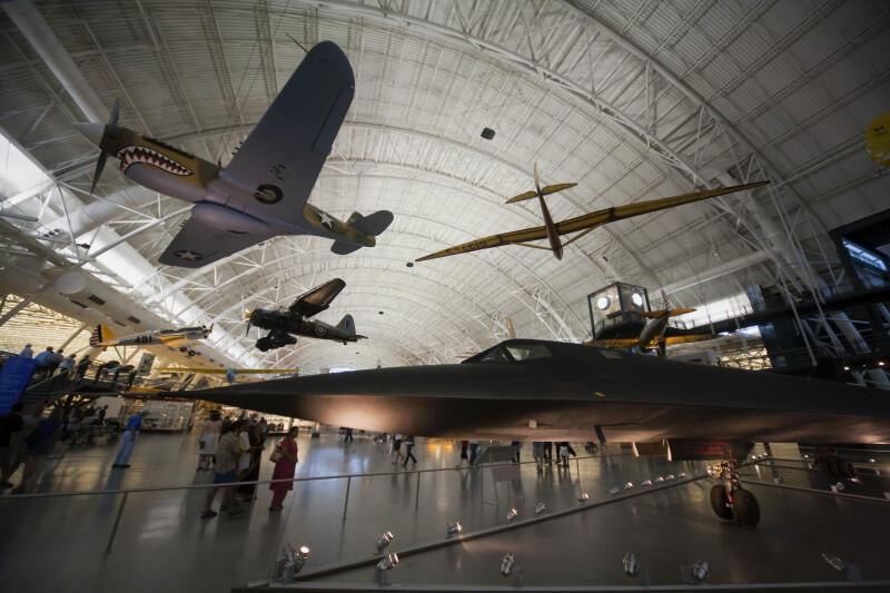 Aircraft at Steven F. Udvar-Hazy Center