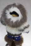 Alaska Man Handcrafted of Fur (Three Quarter View)