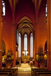 Altar and Pews at Saint Bartholomeus's Cathedral