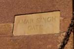 Amar Signh Gate Sign