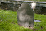 An Eighteenth Century Shouldered Tablet Headstone