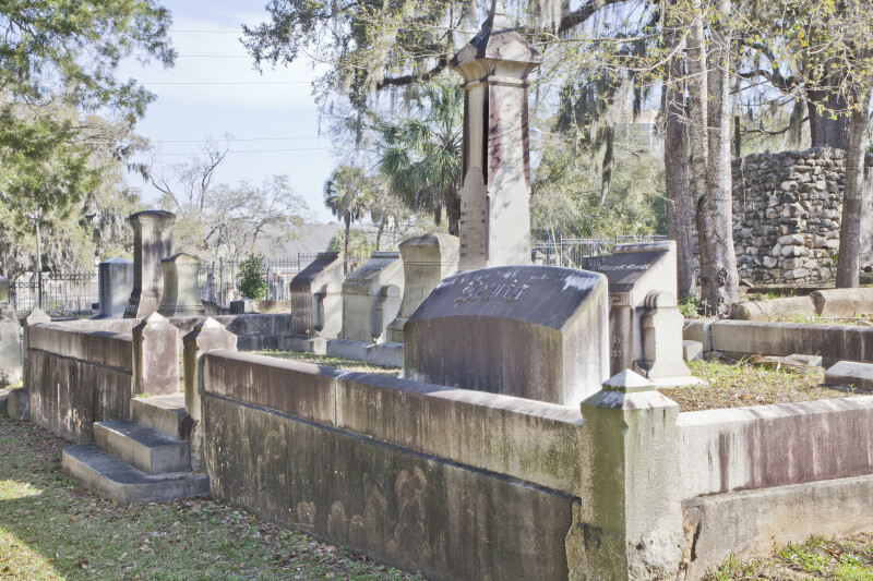 An Elevated Cemetery Plot
