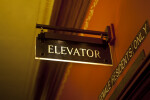 An Elevator Sign