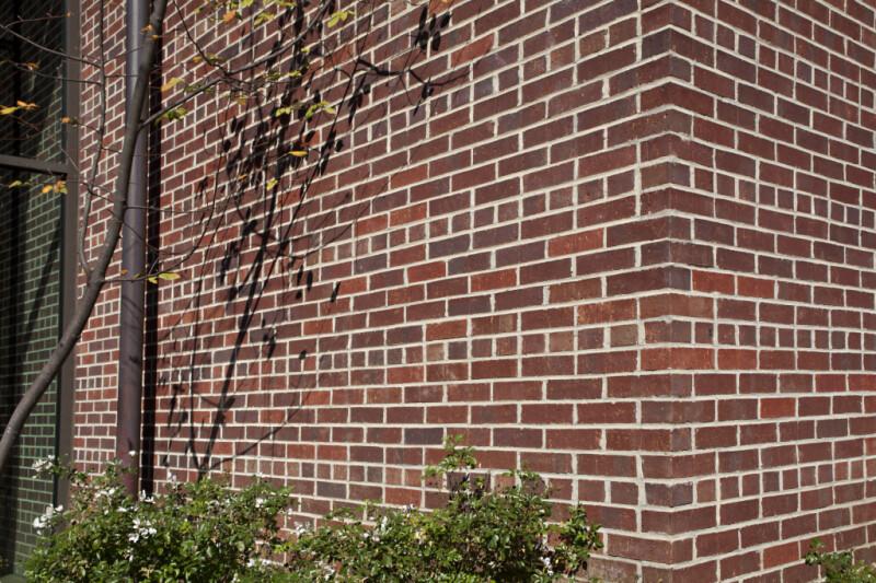 An Exterior Wall of the Corinth Civil War Interpretive Center