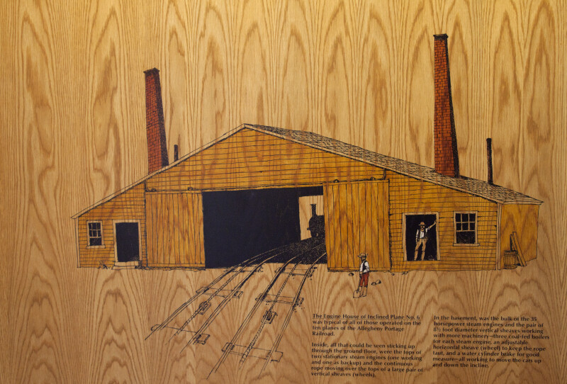An Illustration of the Original Engine House
