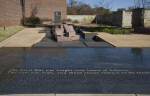 An Overview of the Stream of American History Water Feature