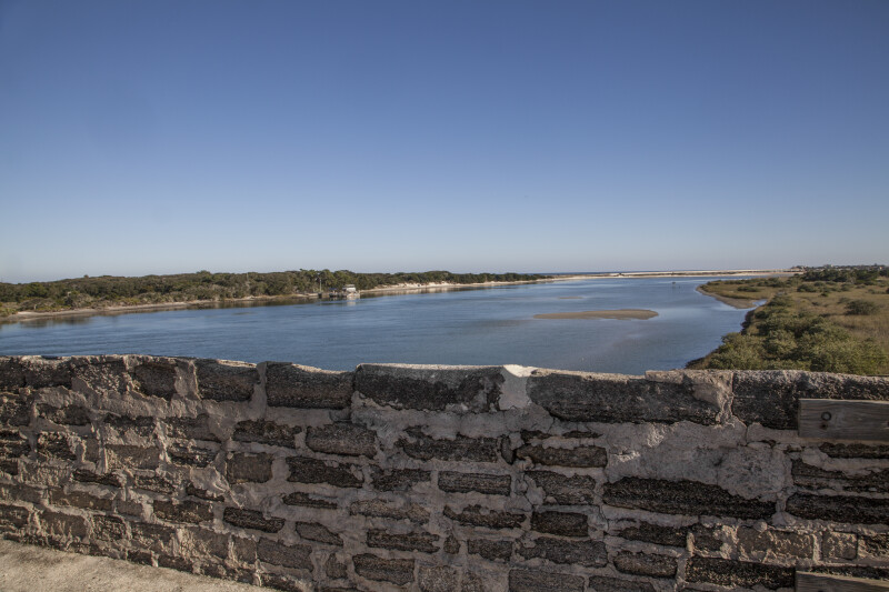 Anastasia Island as Seen from Fort Matanzas Tower