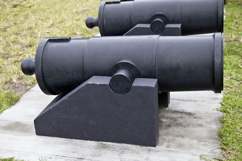 Angled Mortars at the Water Battery
