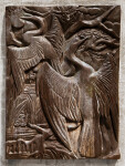 Anhingas in Bronze