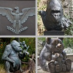 Animal Sculptures photographs