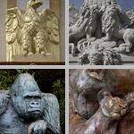 Animal Sculptures photographs
