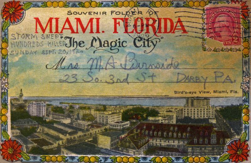 Another Birds' Eye View of Miami, Florida