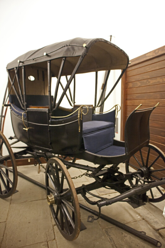 Another View of George Rapp's Carriage