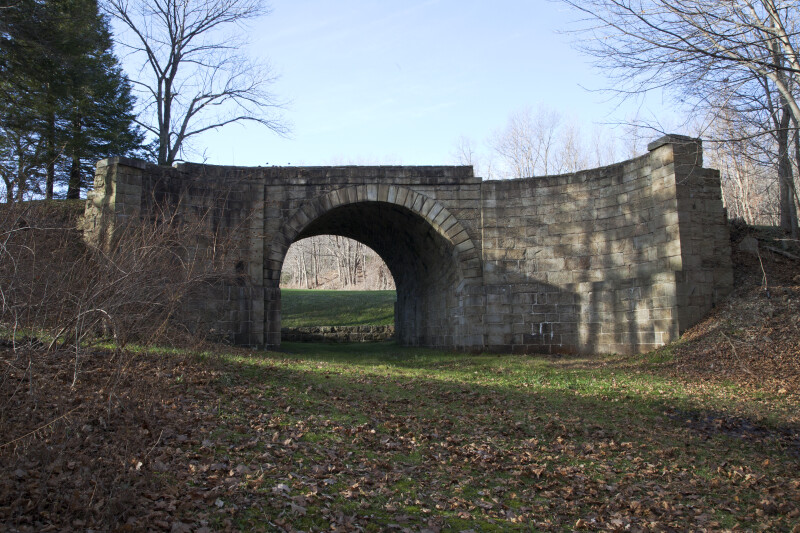 Another View of the Skew Arch Bridge