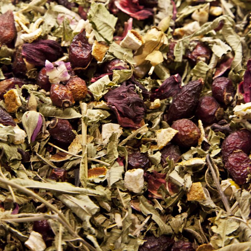 Anti-Stress Tea at the Spice Bazaar in Istanbul, Turkey