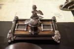 Antique Inkwell on Desk of Luis Muñoz Rivera