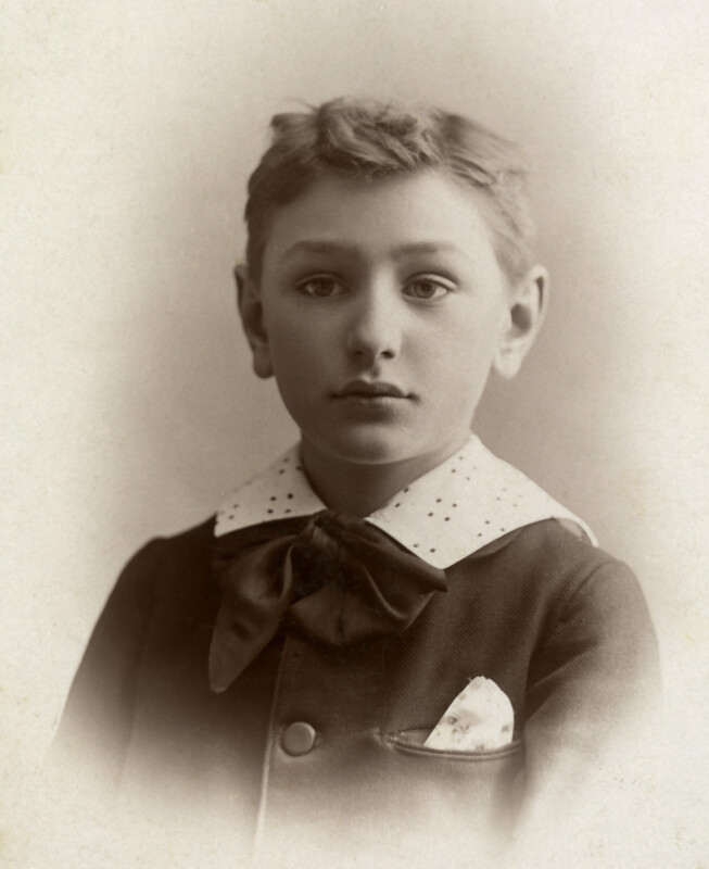 Antique Photo of Young Boy