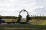 Arched Entrance of the Reconstructed Fort Caroline