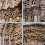 Archivolts with figural decoration photographs
