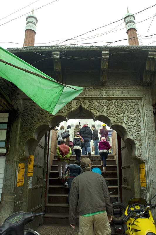 Archway to the Mosque