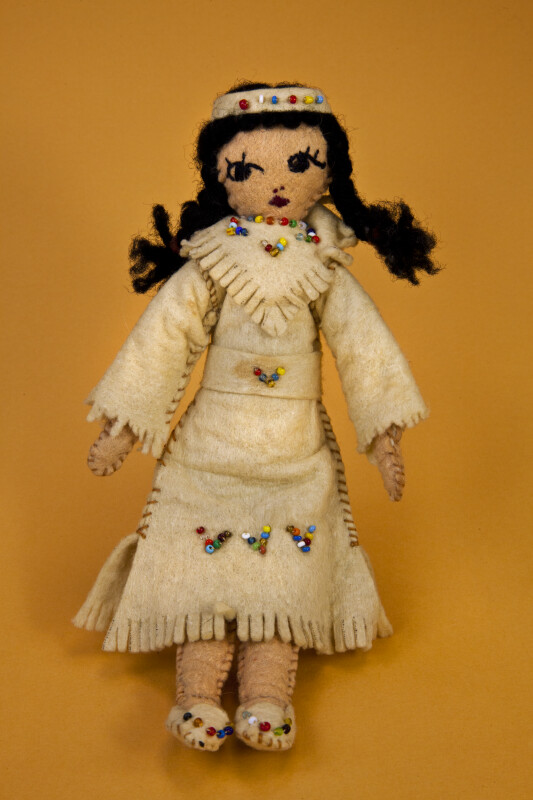 Texas, Handmade Native American Indian Woman (Full View)