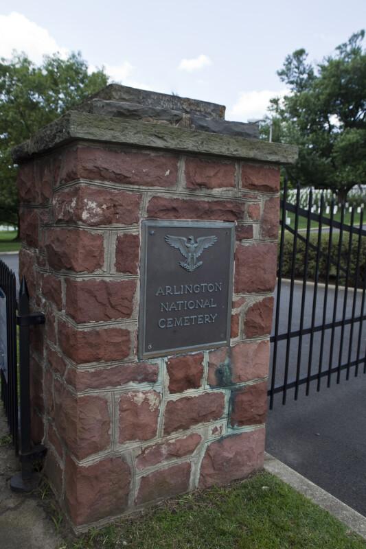Arlington Gatepost