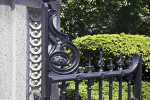 Arlington Street Entrance Gate at the Boston Public Garden